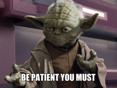 yoda patience