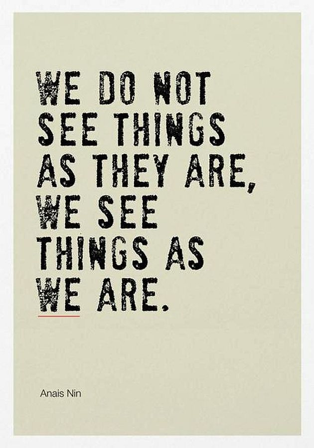 the way we see